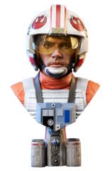 Legends in 3D - Luke Skywalker Pilot 1/2 Scale Bust