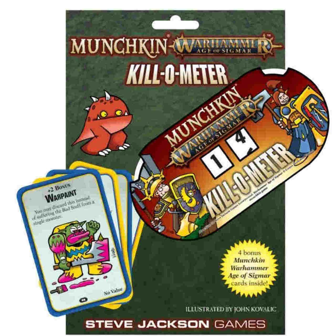 Munchkin Warhammer AOS - Kill-O-Meter