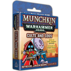 Munchkin Warhammer 40,000 - Cults and Cogs