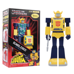 Transformers - Super Cyborg - Bumblebee 10 in Action Figure
