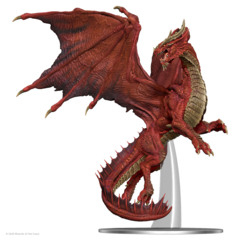 D&D Icons of the Realms - Premium Mini - Adult Red Dragon