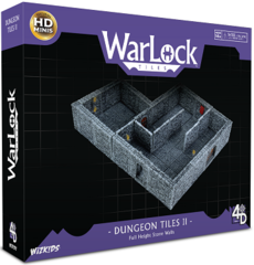 Warlock Tiles - Dungeon Tiles II: Full Height Stone Walls