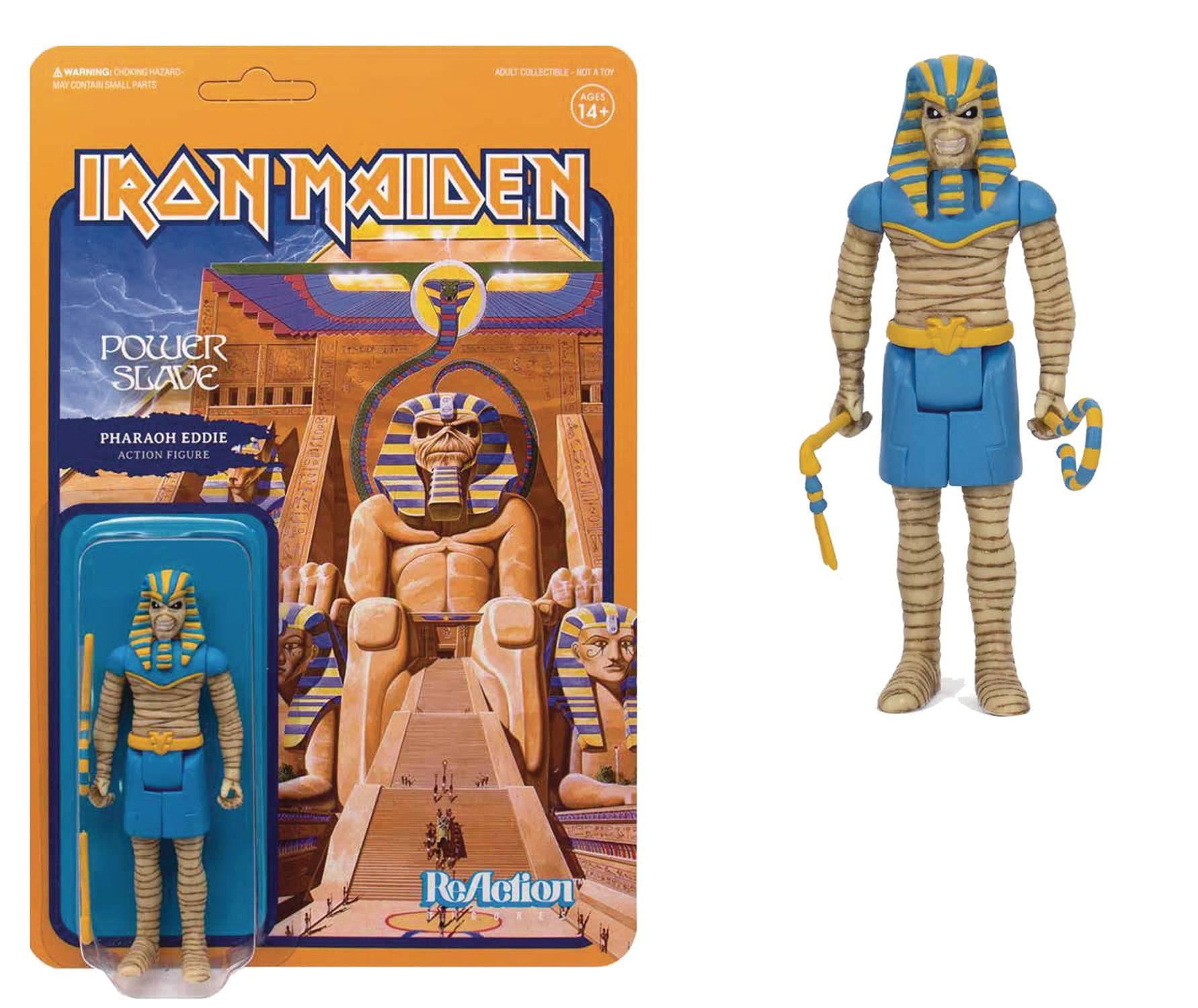 ReAction Figures - Iron Maiden Power Slave - Pharaoh Eddie