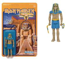 ReAction Figures - Iron Maiden Power Slave - Pharaoh Eddie