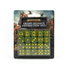 Grand Alliance - Destruction Dice set