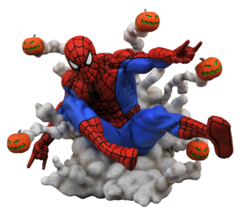 Marvel Gallery - Spider-Man with Pumpkin Bombs PVC Diorama