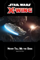 Star Wars X-Wing 2nd Ed - Obstacle Pack - Never Tell Me the Odds