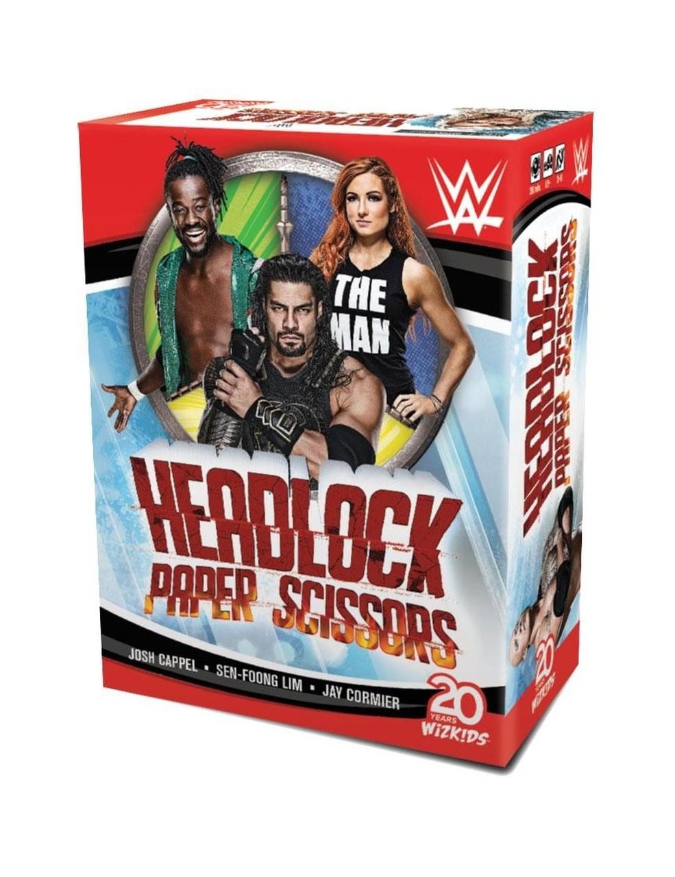WWE - Headlock Paper Scissors