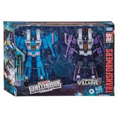 Transformers Generations War For Cybertron: Earthrise Voyager Villains 2 pack