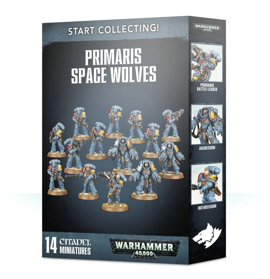 Start Collecting! - Primaris Space Wolves