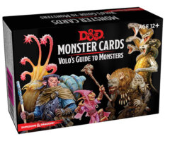 Dungeons & Dragons 5e - Monster Cards - Volo's Guide to Monsters