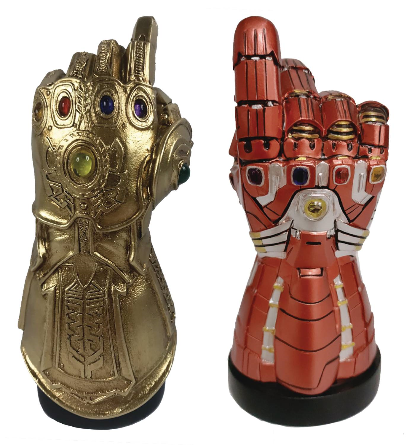 Marvel Infinity & Nano Gauntlet LED PX Desk Monument SDCC 2020 Exclusive