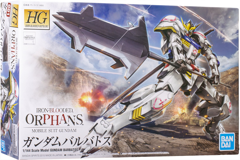 Gundam HG Iron Blooded Orphans - Barbatos #001