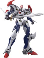 Moderoid - Hyper Combat Unit Dangaioh (Non-Scale) Plastic Model Kit