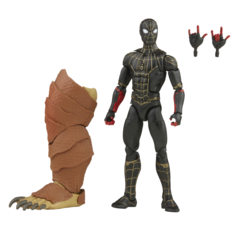 Marvel Legends - Spider-Man: No Way Home - Black & Gold Spider-man - (Armadillo BAF)