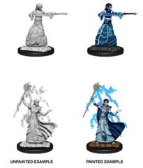D&D Nolzur's Marvelous Miniatures - Elf Female Wizard - Wave 12