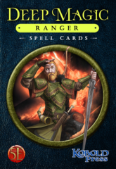 Deep Magic - Ranger Spell Cards