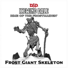 D&D Collector's Series - Icewind Dale Rime of the Frostmaiden - Frost Giant  Skeleton