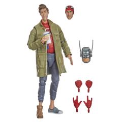 Marvel Legends - Spider-Man Into The Spider-Verse - Peter B Parker Action Figure (Stilt Man BAF)