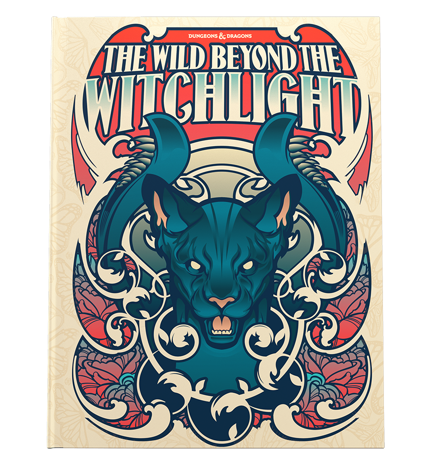 Dungeons & Dragons 5E - The Wild Beyond the Witchlight Alternate Cover