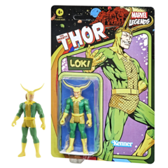 Marvel Retro Legends - Loki 3.75inch Action Figure