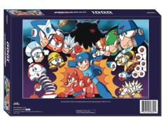 Mega Man 1000 Piece Puzzle
