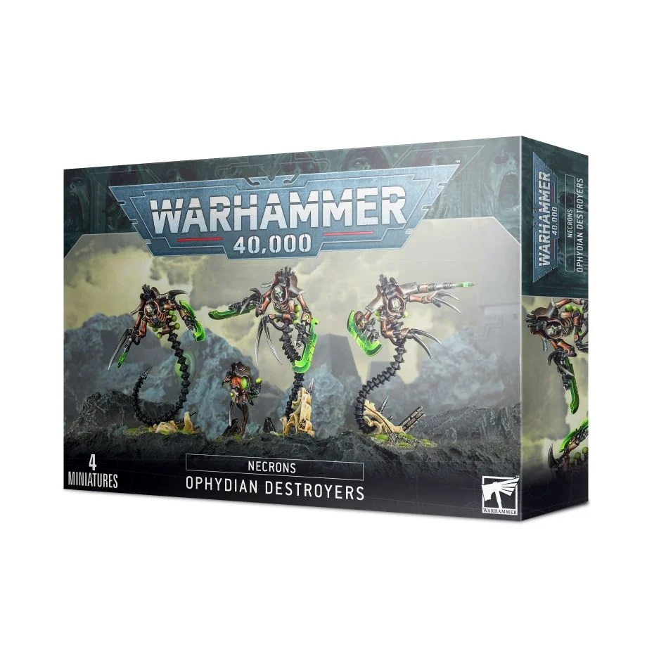 Necrons - Ophydian Destroyers
