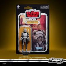 Star Wars - The Vintage Collection - The Clone Wards - Clone Commander Wolfe 3.75inch Action Figure