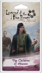 L5R Legend of the Five Rings LCG - The Children of Heaven Dynasty Pack