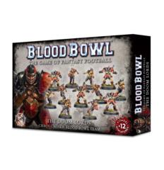 Blood Bowl - The Doom Lords Chaos Chosen Blood Bowl Team