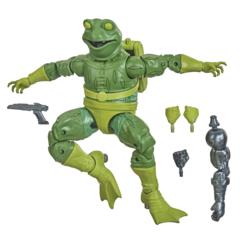 Marvel Legends - Spider-Man Into The Spider-Verse - Frogman Action Figure (Stilt Man BAF)