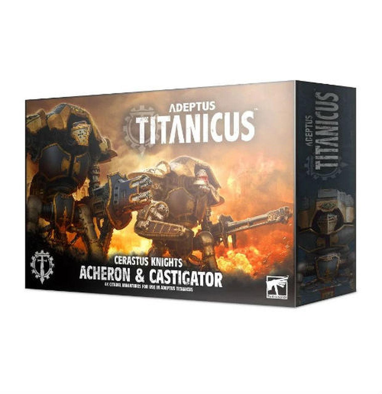 Adeptus Titanicus - Cerastus Knights - Acheron & Castigator