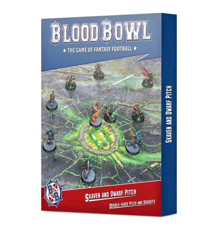 Blood Bowl - Team Pitch - Skaven & Dwarf