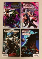 Black Panther and the Agents of Wakanda  #1-8 set (2019 Marvel) Jim Zub (9.0+)