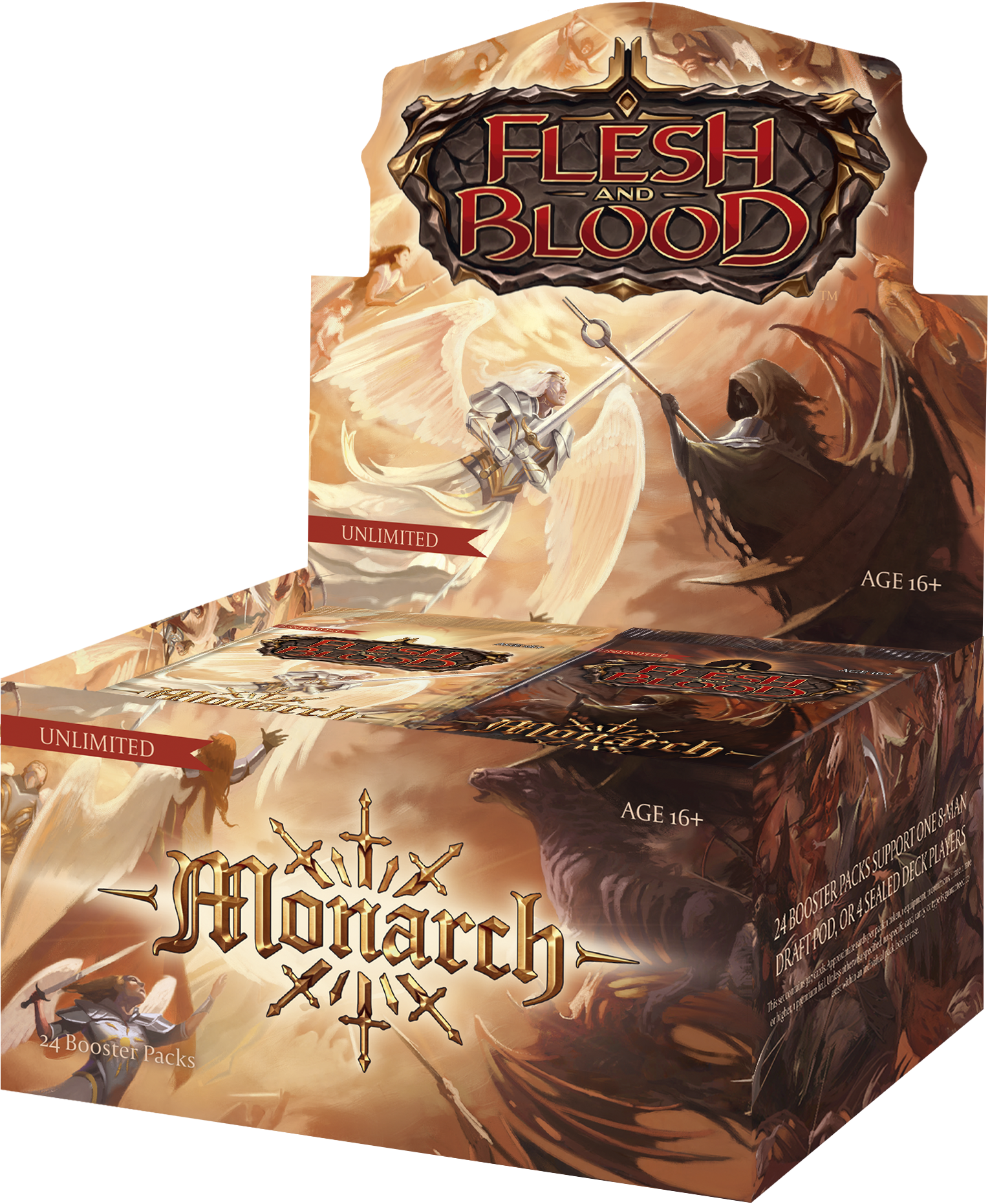 Flesh and Blood TCG - Monarch Unlimited Booster Box (no store credit)