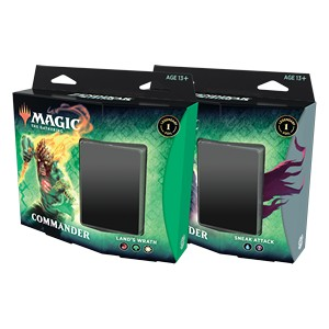 Zendikar Rising Commander Deck - Set of 2 (No store Credit or Pay in Store)