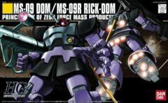 Gundam HG Universal Century - MS-09 Dom / MS-09R Rick-Dom