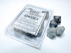 Chessex - Borealis Light Smoke/Silver  10D10 - CHX27378