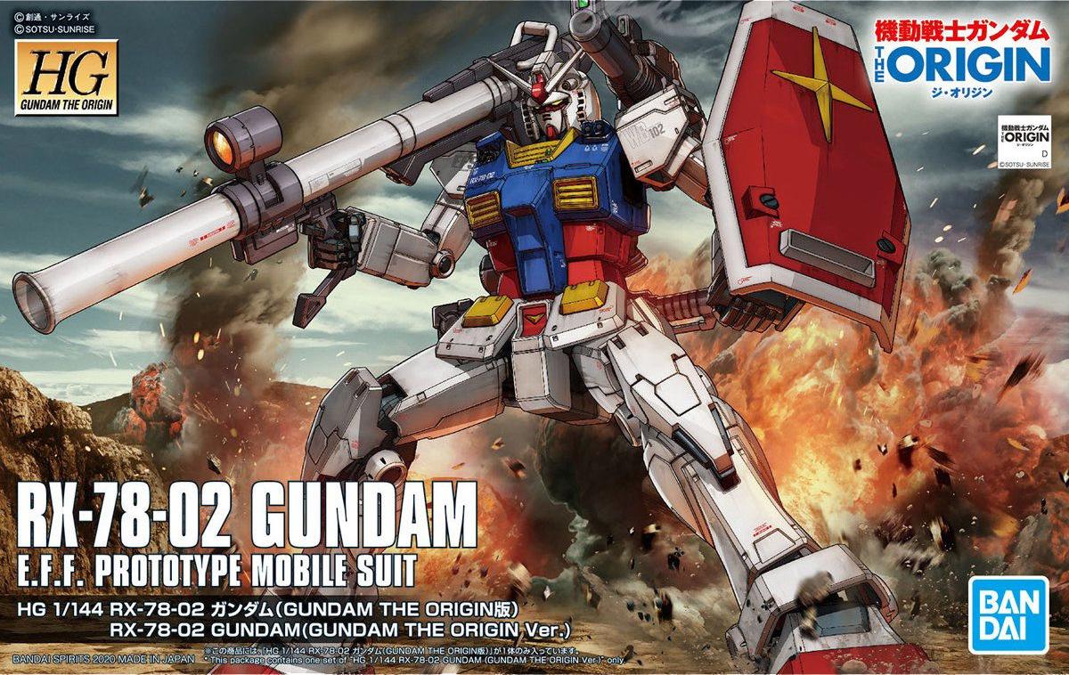 Gundam HG The Origins - RX-78-02 Gundam #026