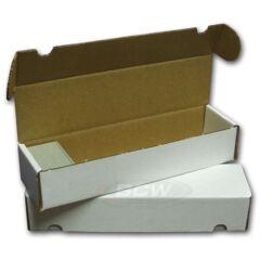 Cardboard Card Storage Box - 800 (can't ship)