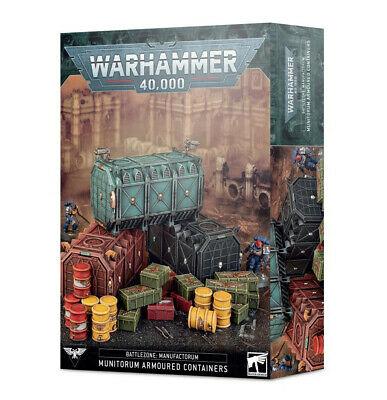 Battlezone Manufactorum - Munitorum Armoured Containers