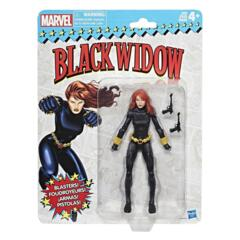Spider-Man Vintage - Black Widow Action Figure