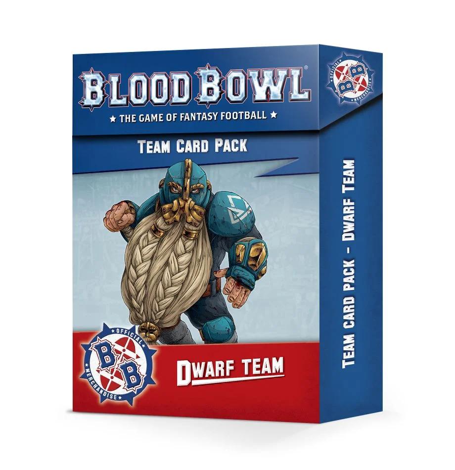 Blood Bowl - Team Cards - Dwarf