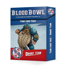 Blood Bowl - Team Cards - Dwarf