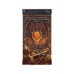 Flesh and Blood TCG - Crucible of War (1st Edition) Booster Pack