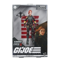 GI Joe Classified Series - Scarlett Movie 6inch Action Figure