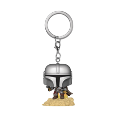 Pocket Pop! - Star Wars The Mandalorian - The Mandalorian with Blaster Keychain