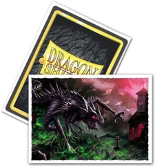 Dragon Shield - Matte Art Sleeves - Halloween Dragon 2020 100ct