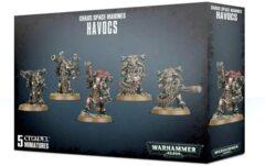 Chaos Space Marine - Havocs