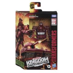 Transformers Generations War for Cybertron: Kingdom - Deluxe Warpath